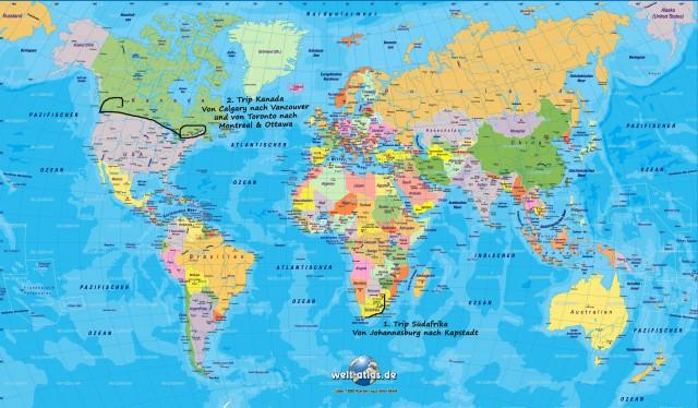 Around the World .. und noch viel weiter :)